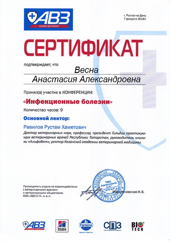 Merkoni Св-во РнД 2018 АВЗ
