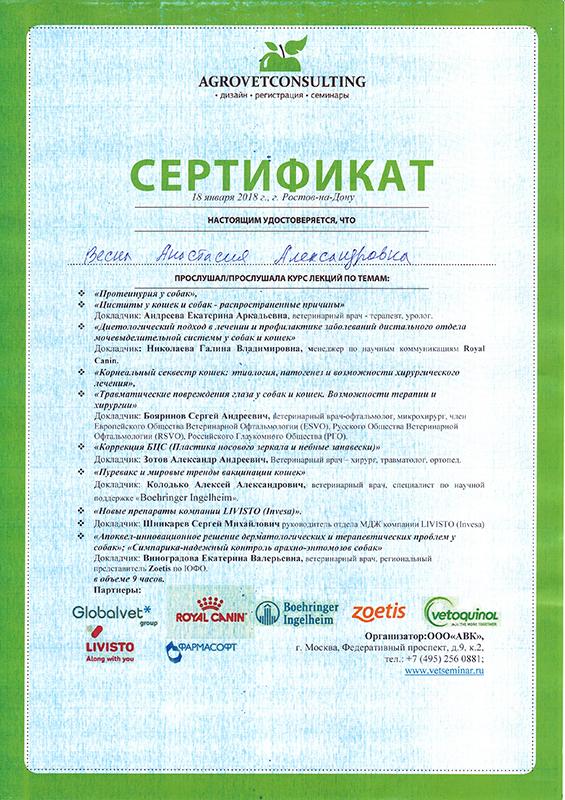 Merkoni Св-во РнД 2018