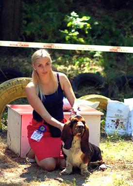 Miyuki Margot  Di Lago Ombroso-Breeder — Lago Ombroso-Owner  Anastasiya Vesna(Merkoni kennel Basset Hound)-02-2